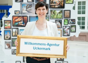 Ariane Böttcher und die Willkommens-Agentur Uckermark im Land der Ideen