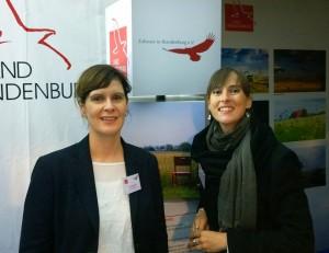 Vorstand Ariane Böttcher & Stephanie Neumann am Stand auf dem Bürgerfest des Bundespräsidenten